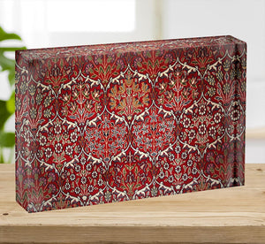 Beautiful turkish carpet Acrylic Block - Canvas Art Rocks - 2