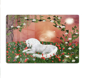 Beautiful unicorn HD Metal Print