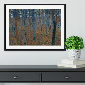 Beech Grove I by Klimt Framed Print - Canvas Art Rocks - 1