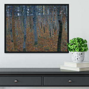 Beech Grove I by Klimt Framed Print - Canvas Art Rocks - 2