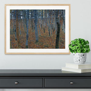 Beech Grove I by Klimt Framed Print - Canvas Art Rocks - 3