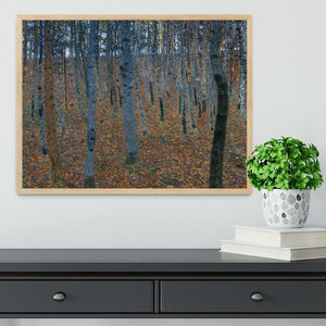 Beech Grove I by Klimt Framed Print - Canvas Art Rocks - 4