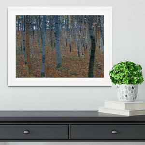 Beech Grove I by Klimt Framed Print - Canvas Art Rocks - 5