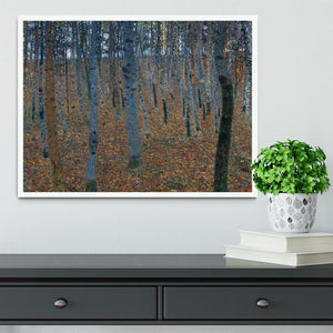 Beech Grove I by Klimt Framed Print - Canvas Art Rocks -6