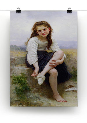Before The Bath By Bouguereau Canvas Print or Poster - Canvas Art Rocks - 2