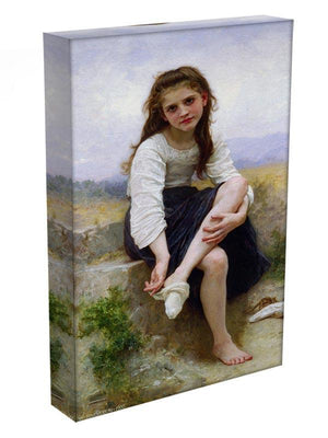 Before The Bath By Bouguereau Canvas Print or Poster - Canvas Art Rocks - 3