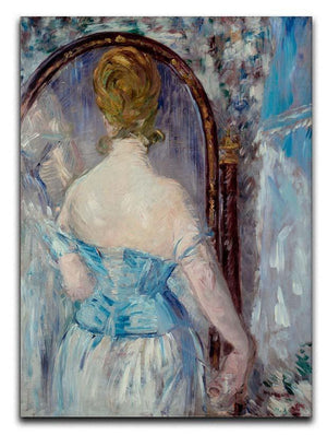 Before the Mirror by Manet Canvas Print or Poster  - Canvas Art Rocks - 1