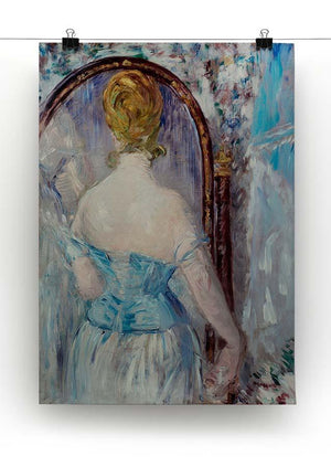 Before the Mirror by Manet Canvas Print or Poster - Canvas Art Rocks - 2