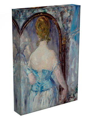 Before the Mirror by Manet Canvas Print or Poster - Canvas Art Rocks - 3
