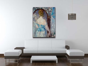 Before the Mirror by Manet Canvas Print or Poster - Canvas Art Rocks - 4