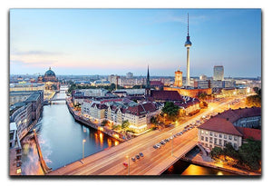 Berlin skyline Canvas Print or Poster  - Canvas Art Rocks - 1