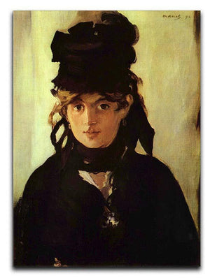 Berthe Morisot by Manet Canvas Print or Poster  - Canvas Art Rocks - 1