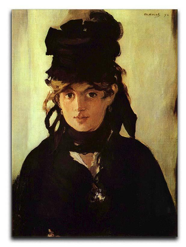 Berthe Morisot by Manet Canvas Print or Poster