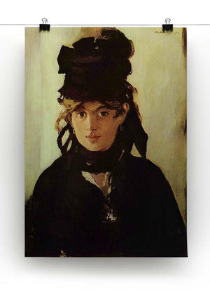 Berthe Morisot by Manet Canvas Print or Poster - Canvas Art Rocks - 2