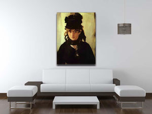 Berthe Morisot by Manet Canvas Print or Poster - Canvas Art Rocks - 4
