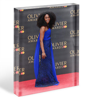 Beverley Knight Acrylic Block - Canvas Art Rocks - 1