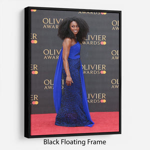 Beverley Knight Floating Frame Canvas - Canvas Art Rocks - 1