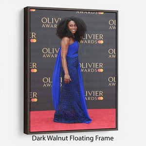 Beverley Knight Floating Frame Canvas - Canvas Art Rocks - 5