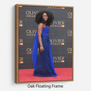 Beverley Knight Floating Frame Canvas - Canvas Art Rocks - 9