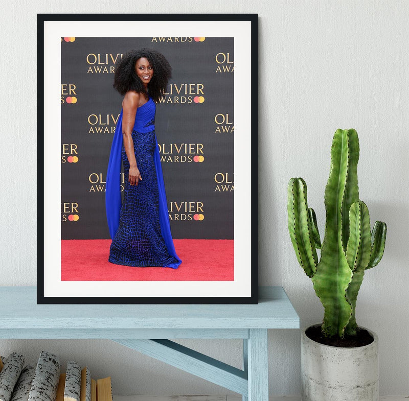 Beverley Knight Framed Print - Canvas Art Rocks - 1