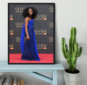 Beverley Knight Framed Print - Canvas Art Rocks - 2