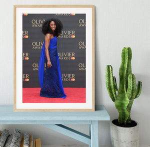 Beverley Knight Framed Print - Canvas Art Rocks - 3