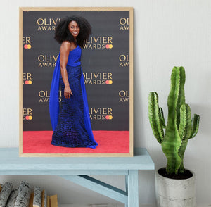 Beverley Knight Framed Print - Canvas Art Rocks - 4
