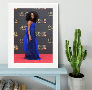Beverley Knight Framed Print - Canvas Art Rocks - 5