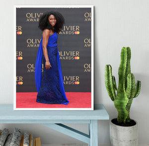 Beverley Knight Framed Print - Canvas Art Rocks -6