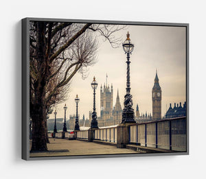 Big Ben and Houses of parliament HD Metal Print