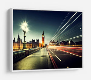 Big Ben from Westminster Bridge HD Metal Print