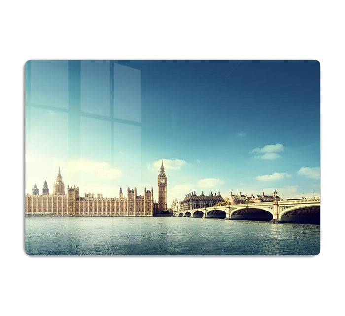 Big Ben in sunny day HD Metal Print