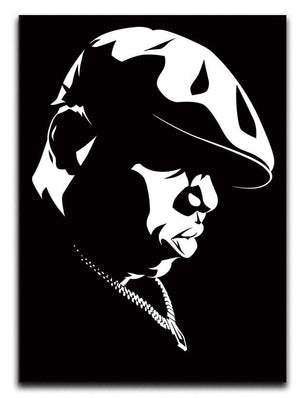 Biggie Smalls Canvas Print & Poster - Canvas Art Rocks