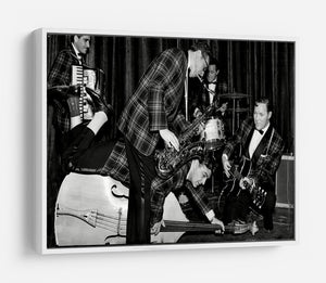 Bill Haley and The Comets going crazy HD Metal Print