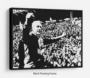 Bill Shankly Floating Frame Canvas