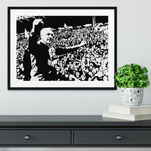 Bill Shankly Framed Print - Canvas Art Rocks - 1