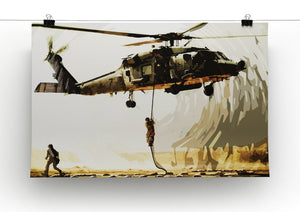Black Hawk Down Print - Canvas Art Rocks - 3