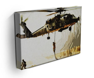 Black Hawk Down Print - Canvas Art Rocks - 2