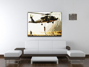 Black Hawk Down Print - Canvas Art Rocks - 4