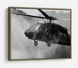 Black Hawk Helicopter HD Metal Print