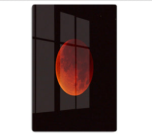 Blood Moon Rising HD Metal Print - Canvas Art Rocks - 1