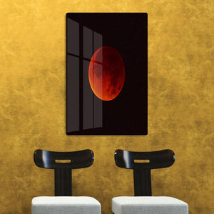 Blood Moon Rising HD Metal Print - Canvas Art Rocks - 2
