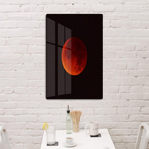 Blood Moon Rising HD Metal Print - Canvas Art Rocks - 3