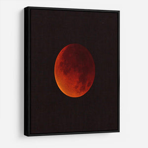 Blood Moon Rising HD Metal Print - Canvas Art Rocks - 6