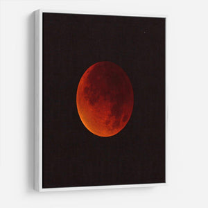 Blood Moon Rising HD Metal Print - Canvas Art Rocks - 7