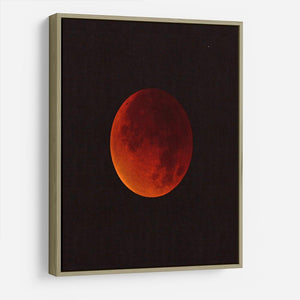 Blood Moon Rising HD Metal Print - Canvas Art Rocks - 8