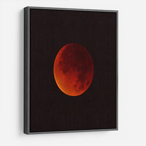 Blood Moon Rising HD Metal Print - Canvas Art Rocks - 9