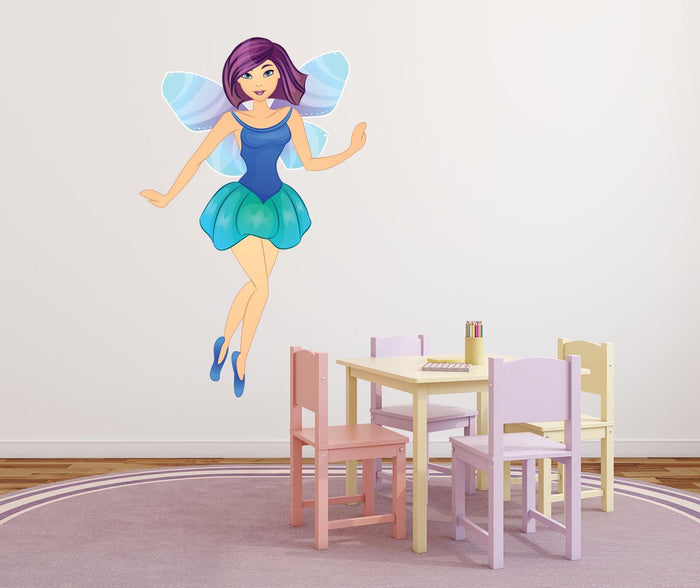 Blue Fairy Wall Sticker