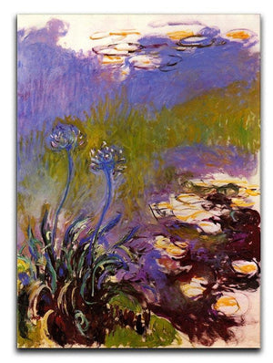 Blue Tuberosen by Monet Canvas Print & Poster  - Canvas Art Rocks - 1