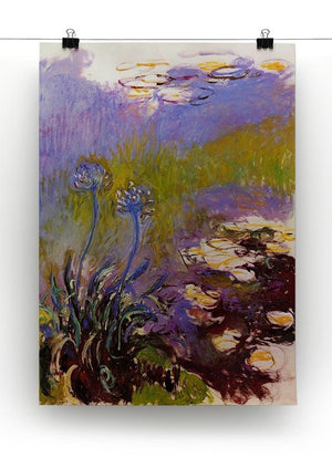 Blue Tuberosen by Monet Canvas Print & Poster - Canvas Art Rocks - 2